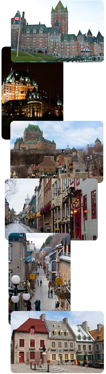 quebec city architecture