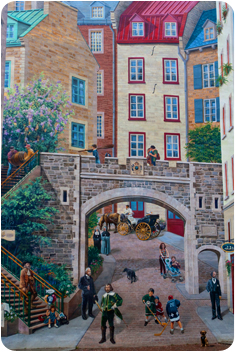 Place Royale wall mural
